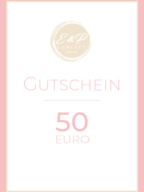"""Gutschein """"50€"""""""