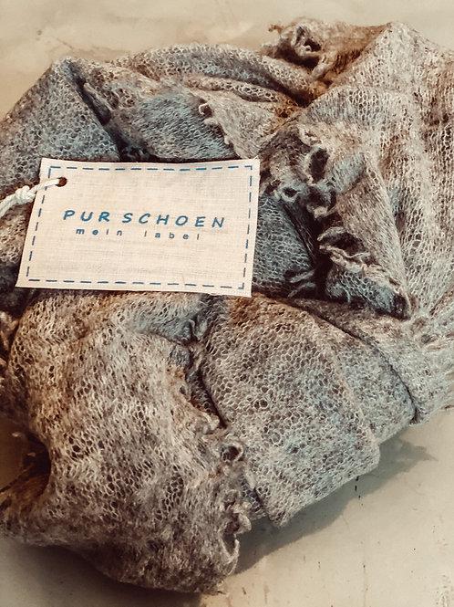 Pur Schoen Kaschmirschal Grey/Beige