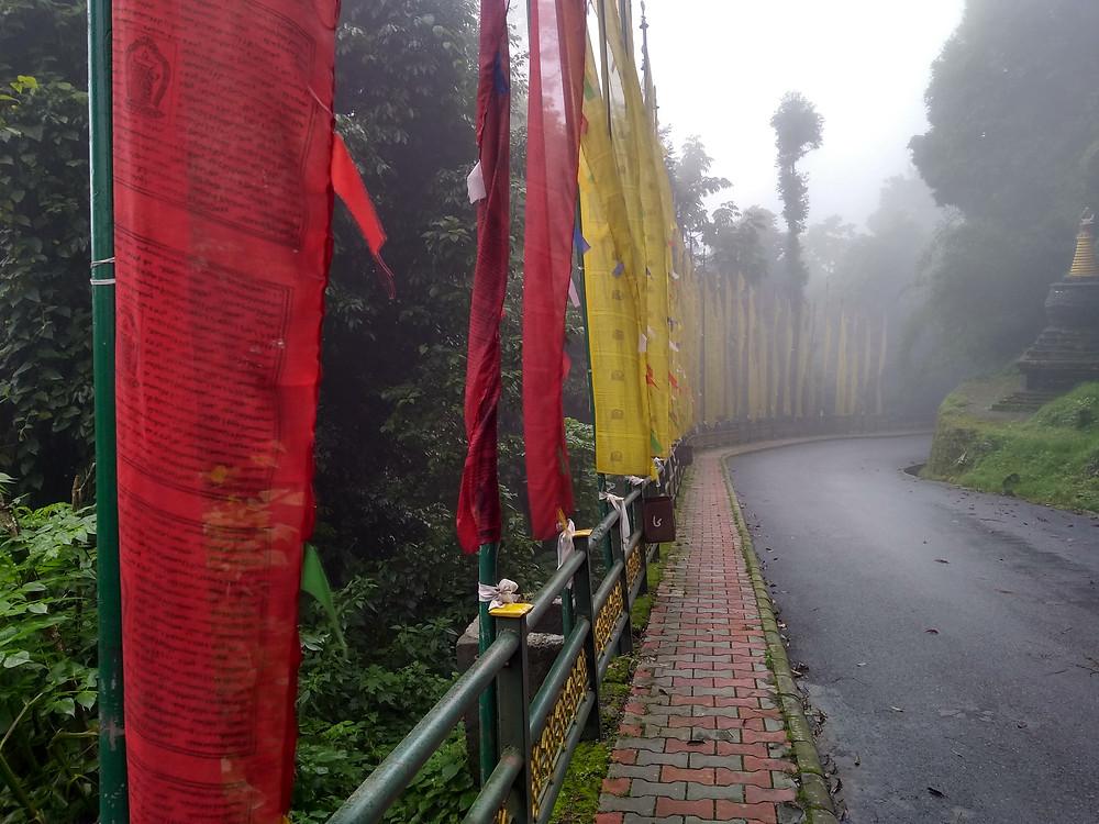 Road to Pemayangtse Monastery