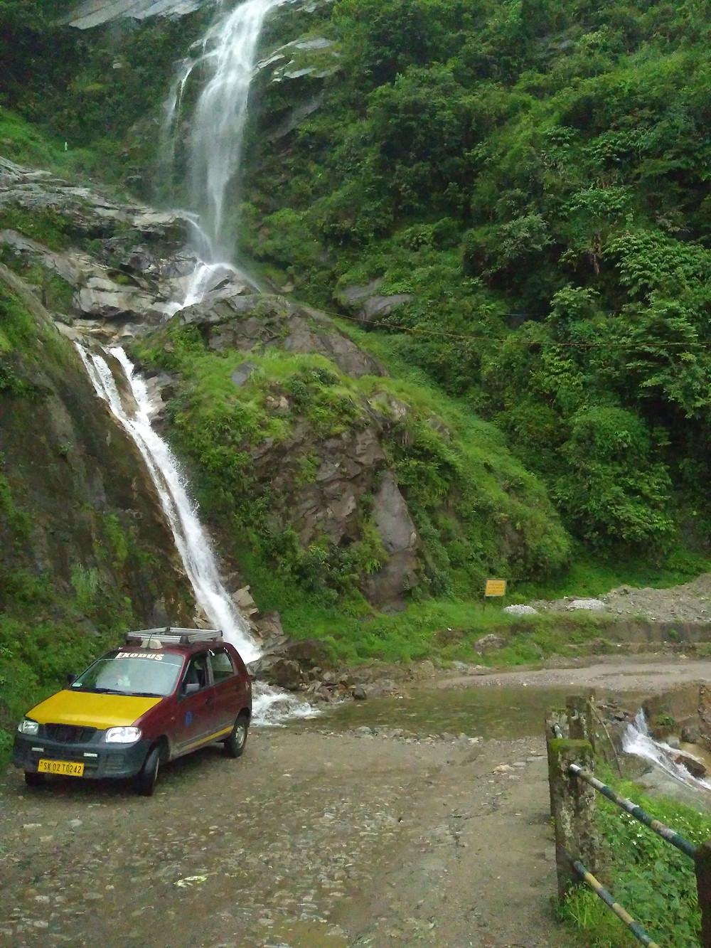 Mangey Falls