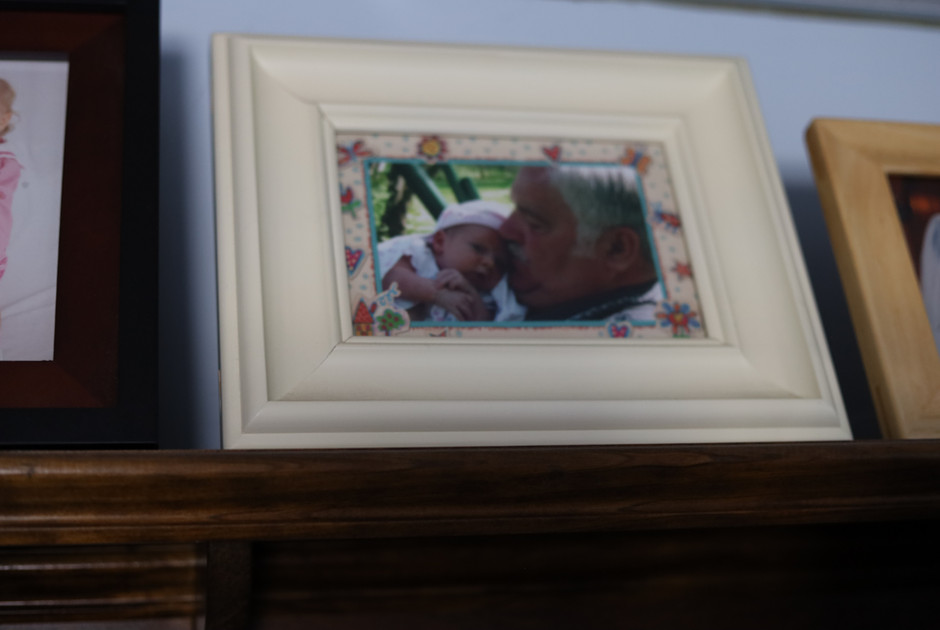 Ray and grand child