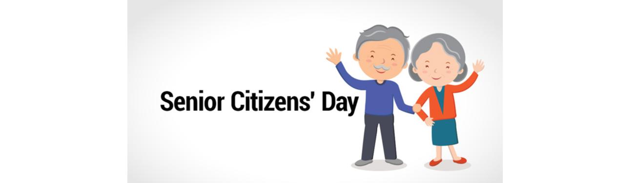 August 21st – Senior Citizens Day
