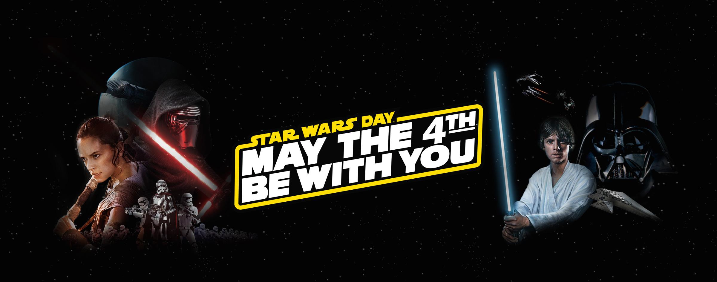 May 4th - Star Wars Day