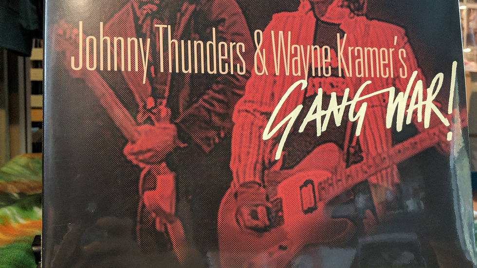 Johnny Thunders&Wayne Kramer - Gang War (RSD Drops Release on Red & Yellow 2LP)