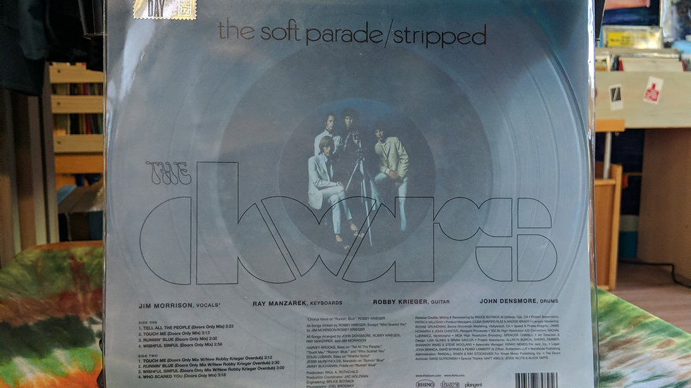 The Doors - The Soft Parade Stripped (RSD Drops Exclusive)