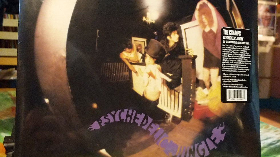 The Cramps - Psychedelic Jungle (2020 Reissue on 150g Vinyl)
