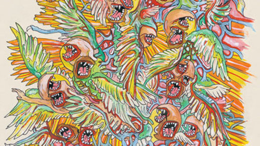 Of Montreal - Paralytic Stalks (2012 Double LP Gatefold 180g Yellow Pressing)