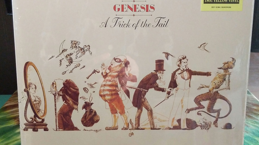 Genesis - A Trick of the Tail (2021 Reissue on 180g Yellow Vinyl)