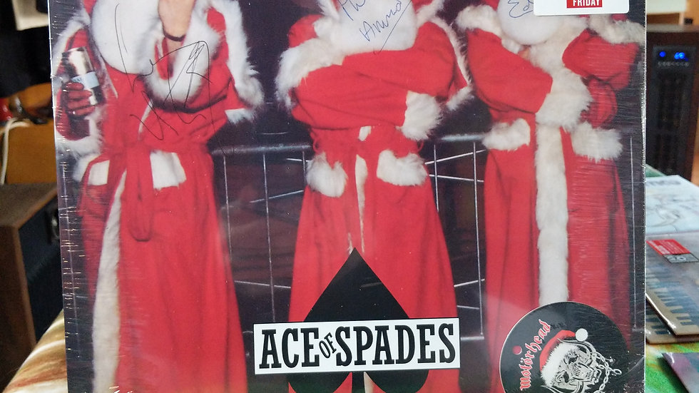 "Motörhead - Ace of Spades (RSDBF Limited 12"" Single on Red)"