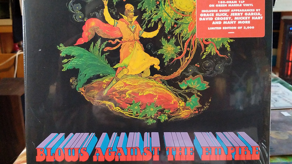 Paul Kantner - Blows Against the Empire (RSDBF Limited Green Marble LP)