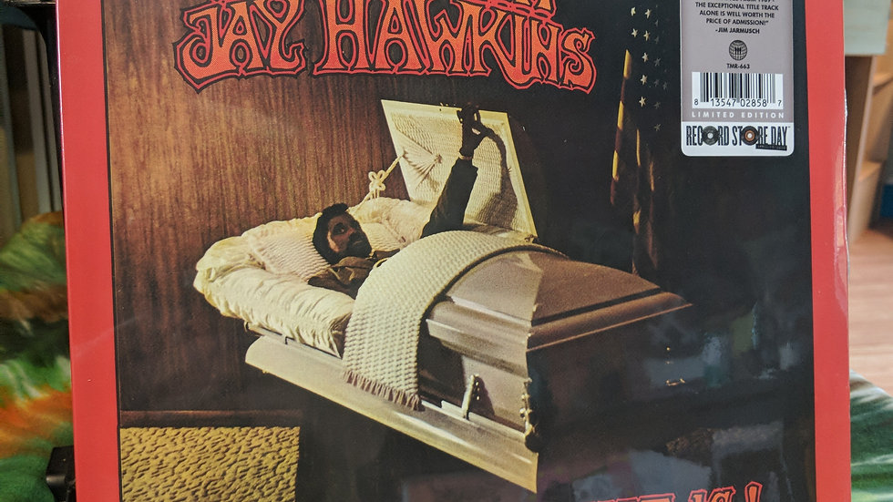 Screamin' Jay Hawkins - ... What That Is! (Clear w/ Orange Splatter RSD Drops)