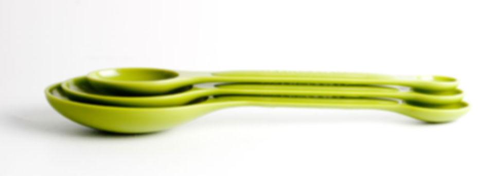Yeşil Ölçüm Kaşık