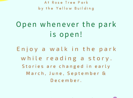 Take a STORY WALK in the Park