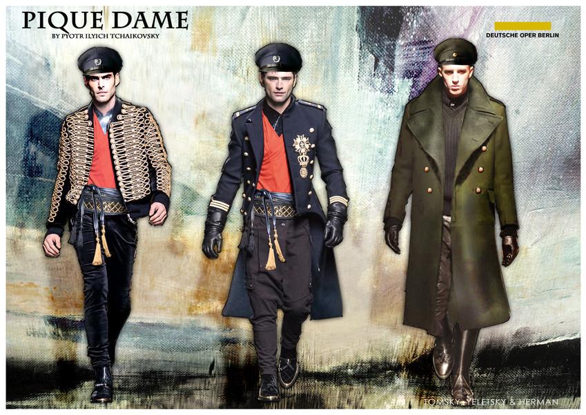 PIQUE DAME_Costume_TOMSKY, YELENTSKY & H