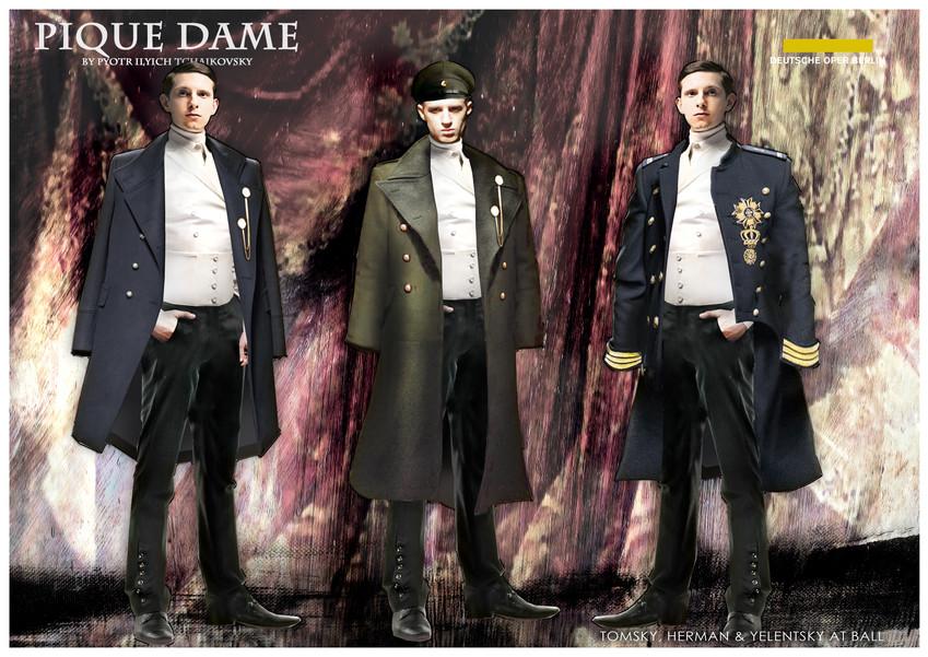 PIQUE DAME_Costume_TOMSKY, HERMAN & YELE