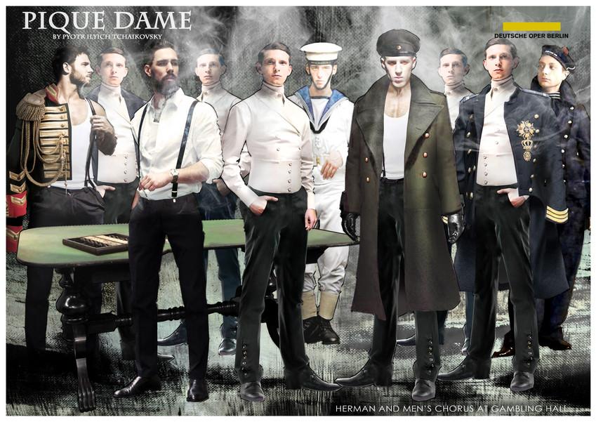 PIQUE DAME_Costume_HERMAN AT GAMBLING HA