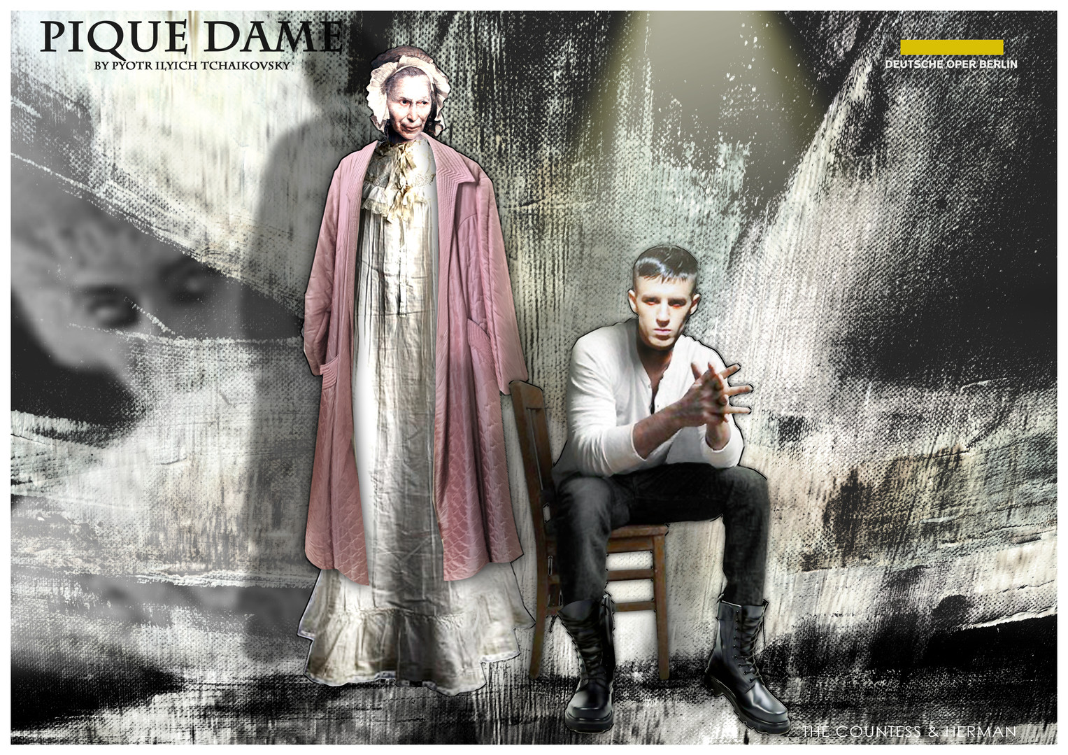 PIQUE DAME_Costume_THE COUNTESS & HERMAN