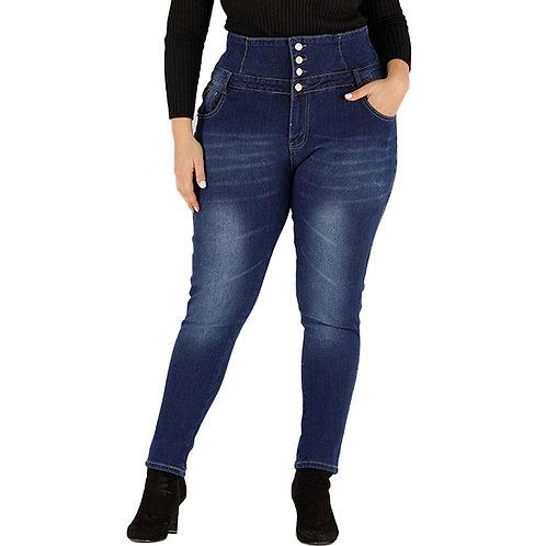 Casual Stretch Pencil Jeans