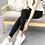Thumbnail: Pencil Pants Slim Elastic Thin Trousers