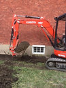 Mini-excavation, excavation