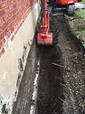 Mini-Excavation, DRAIN FANÇAIS, IMPERMÉABILISATION DE FONDATION