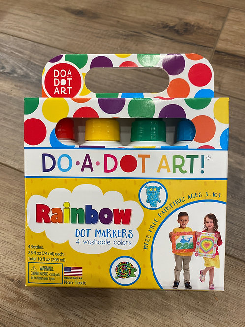 Do•A•Dot Art.Rainbow Dot Markers  (4 markers)