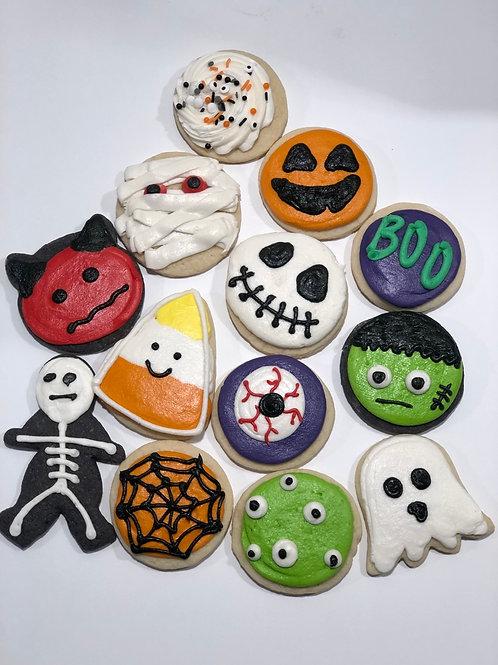 Halloween Sugar Cookies / Dozen