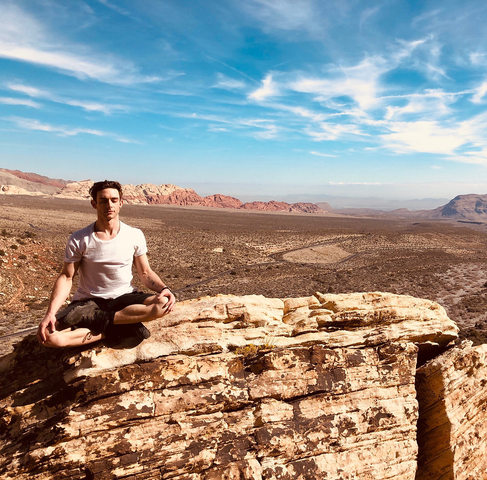 Joshua Berg; Meditation; Las Vegas