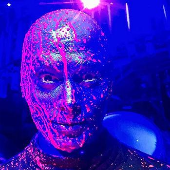 Joshua Berg Blue Man Group Las Vegas