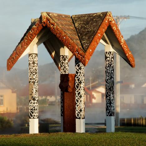 maori temple rotorua new zealand kim mat