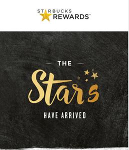 Starbucks Rewards Website