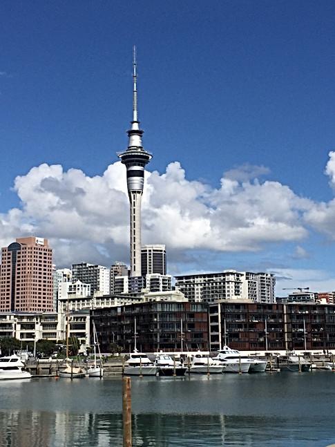 Auckland NZ Harbor