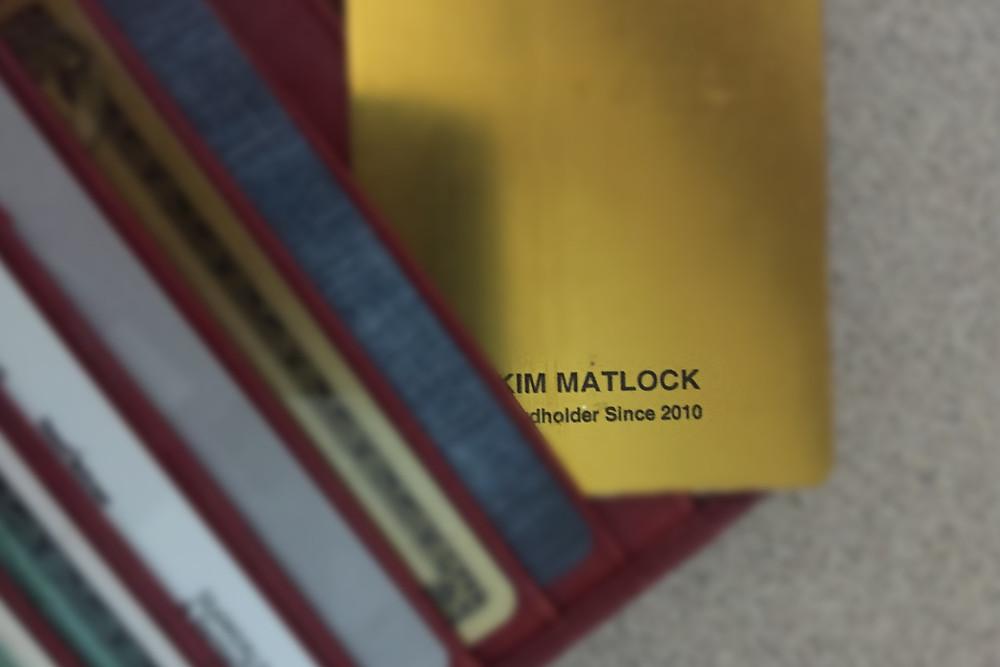 Kim Matlock Starbucks Gold Card - Starbuck Rewards