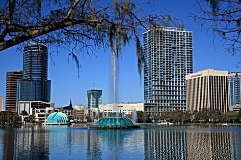 Glorious Downtown Orlando Florida