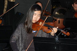 Our wonderful student orchestra