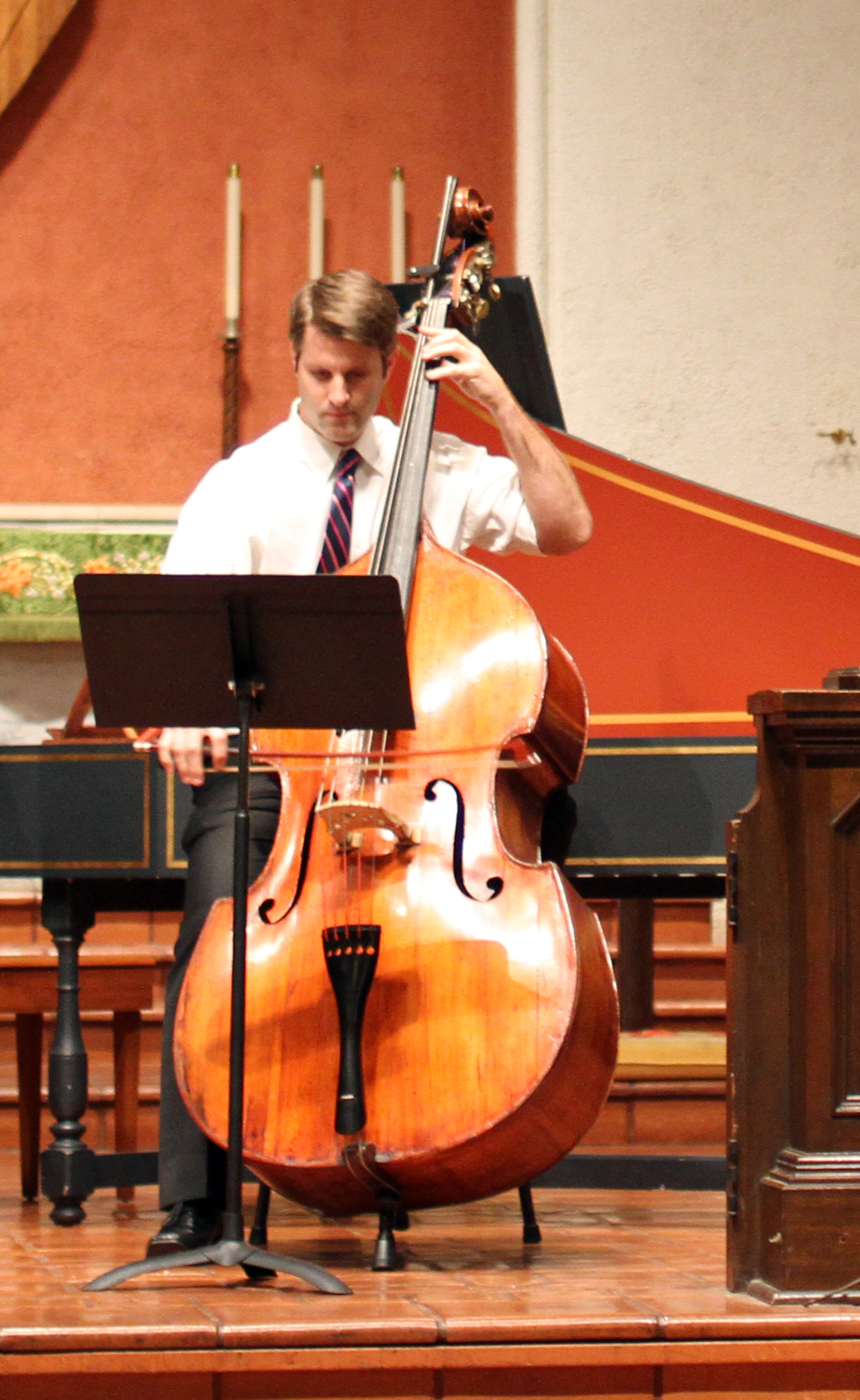 Jory Herman, double bass