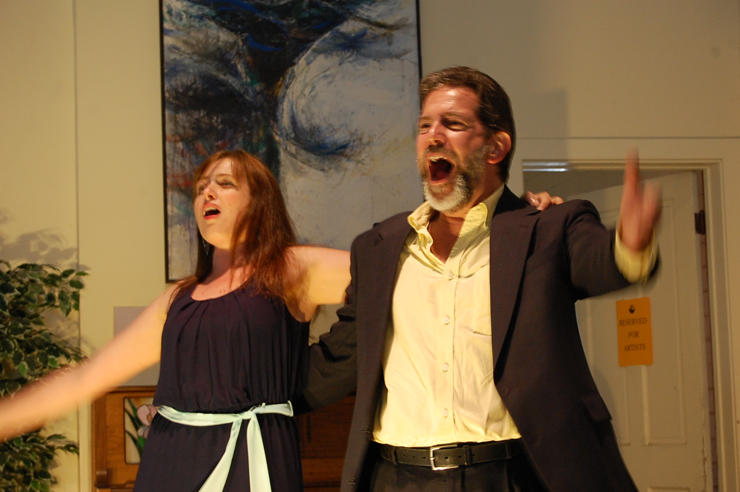 Kate Oberjat & Walter DuMelle