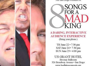 8 SONGS for a MAD KING