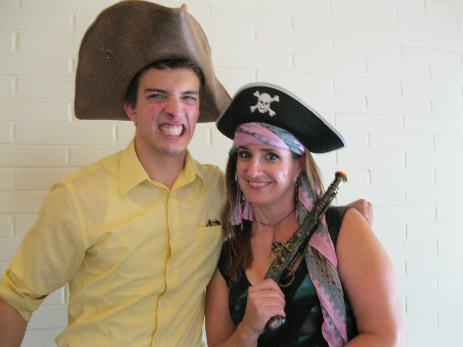 Anthony & Fran, Pirate King & Ruth