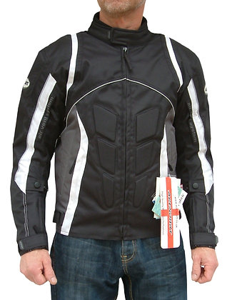 BLITZ mens Courdura motorcycle jacket