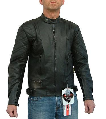 COBRA 2 mens leather motorcycle jacket