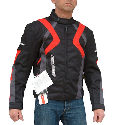 LIGHTENING   Cordura motorcycle jacket VARIOUS COLOURS