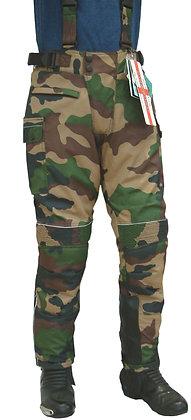 BUSH mens Cordura motorcycle trousers