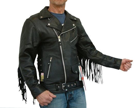 TASSEL PATROL leather motorcycle Jacket   (£125-£155) PRICED PER SIZE