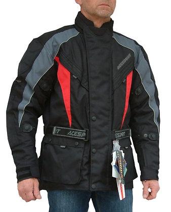 TITAN mens Cordura motorcycle jacket RED, BLUE, OR BLACK