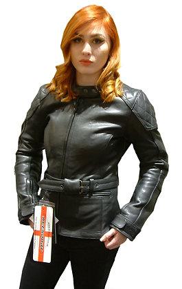LOLA ladies leather motorcycle jacket