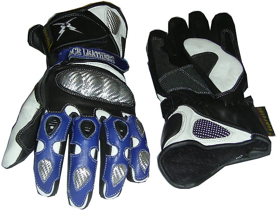 ACTION WINTER leather gloves. red,blue or black