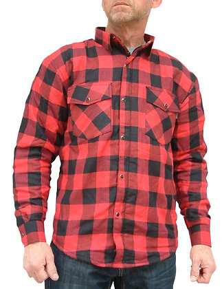LUMBERJACK SHIRT for bikers with Kevlar by Dupont
