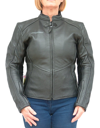 MINX ladies leather motorcycle jacket