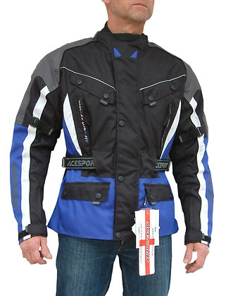TORRENT 3/4 length Cordura motorcycle jacket